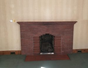 Fireplace renovation