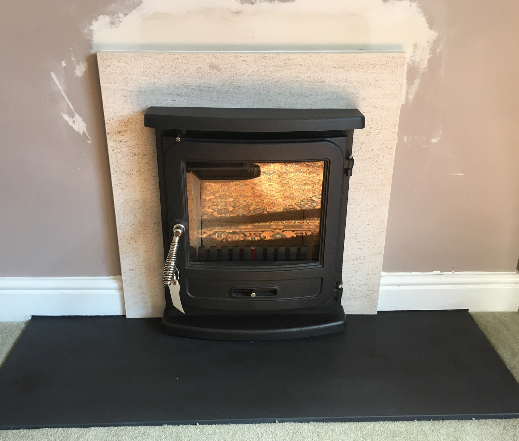 Inset stove