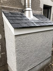 External flue fitting